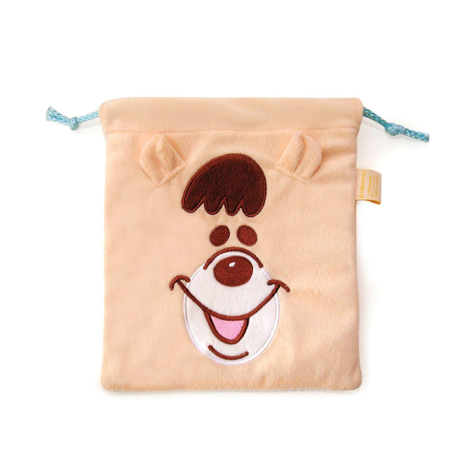 巾着袋 (クマタン)